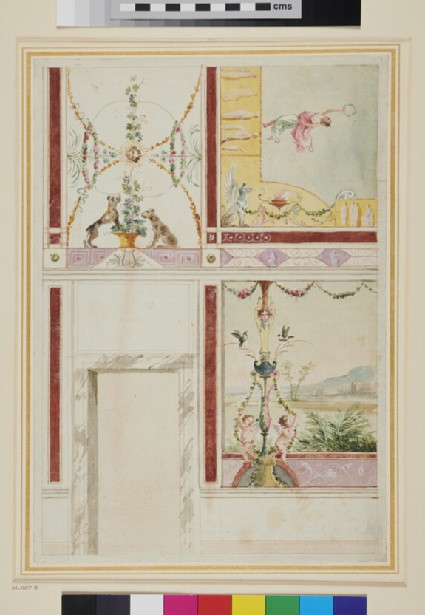 Design for the Decoration of a Room