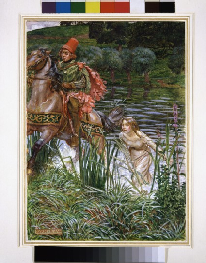 The Knight and the Shepherd's Daughter