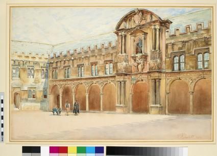 Canterbury Quadrangle, east Side, St John's College, Oxford