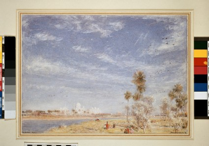 Tai Mahal, Agra, seen from the River Jumna
