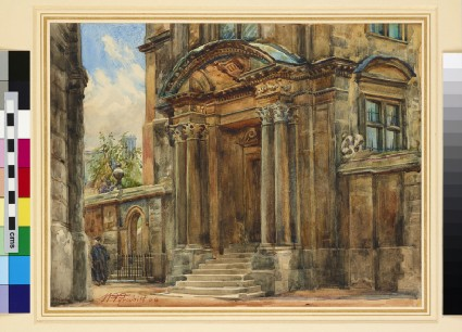 The Side Entrance to the Old Ashmolean