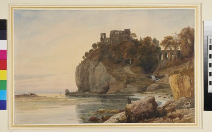 Ruins on a rocky Promontory