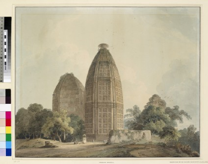 Hindu Temple at Bindrabund on the River Jumna