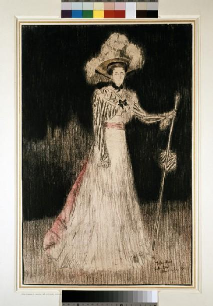 Portrait of Mrs William S. Hulton (née Constanza Mazini)