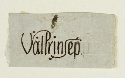 Signature Design for Valentine Cameron Prinsep