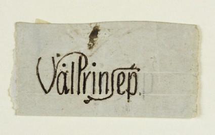 Signature Design for Valentine Cameron Prinsep