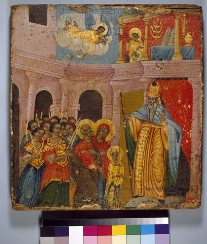 Icon of The Presentation of the Virgin in the Temple