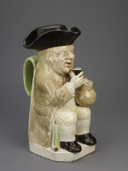Toby jug and cup