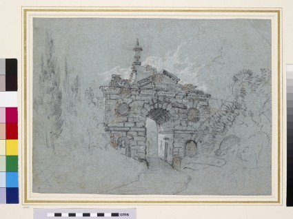 Recto: The Ruined Arch at Kew
