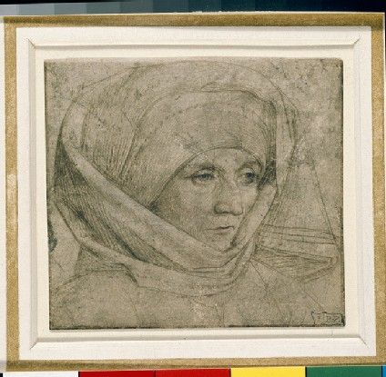Recto: Portrait of an unknown Woman 
