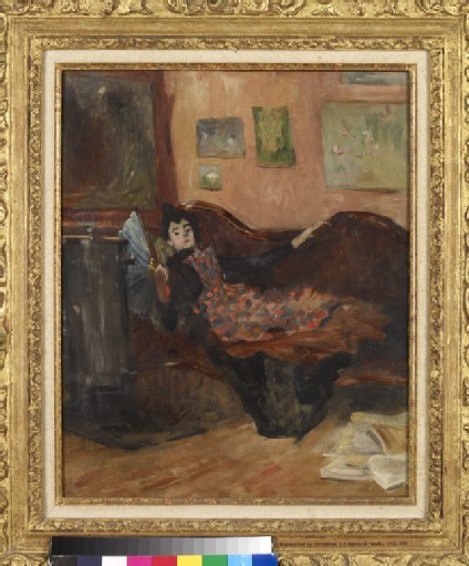 Woman on a Chaise-Longue