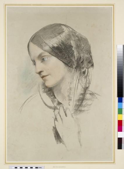 Portrait study of Lady Eastlake (1809-1893)