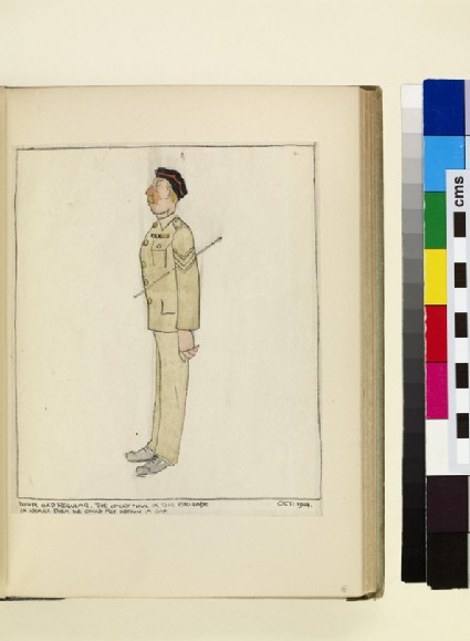 The Costumes and Uniforms of the British Army, 1914-1915: Your Old Regular