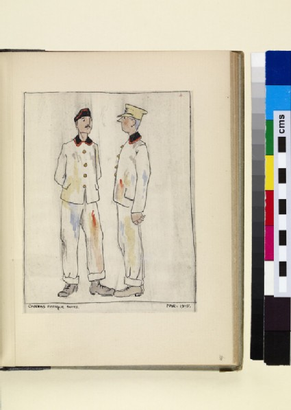 The Costumes and Uniforms of the British Army, 1914-1915: Canvas Fatigue Suits, March 1915