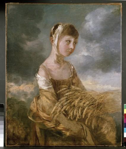 Margaret Gainsborough gleaning
