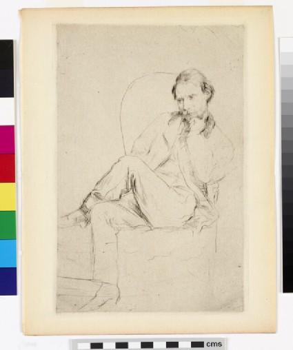 Renoir, les jambes croisées (Renoir, with crossed legs)