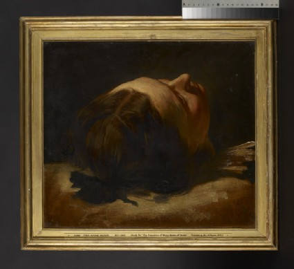 Study for 'The Execution of Mary, Queen of Scots'