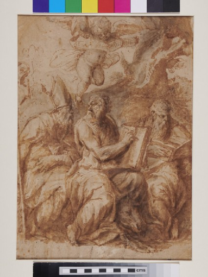 Recto: Head of St Helena