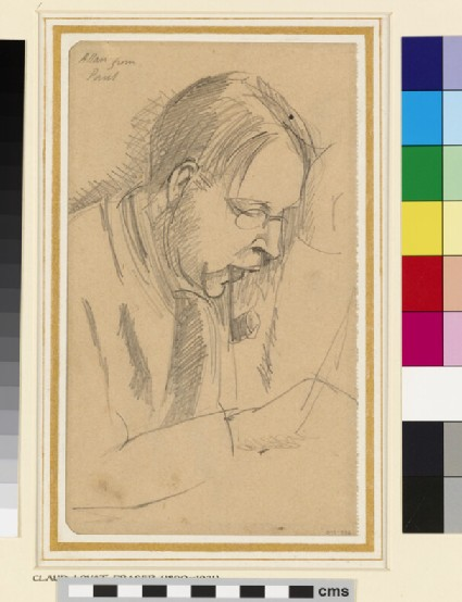 Claud Lovat Fraser designing for Karsavina, shortly before his death