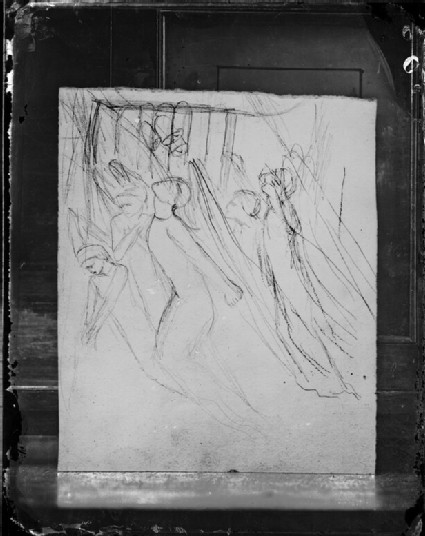 Glass plate negative of 'Angels Rising'