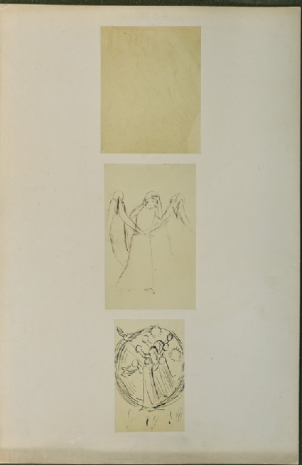 Three sketches of angels