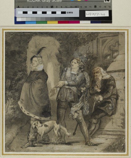 Scene from Shakespeare
