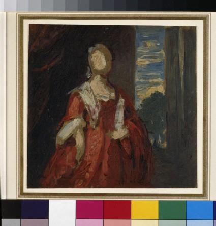 Portrait Study of the Countess of Ashburnham