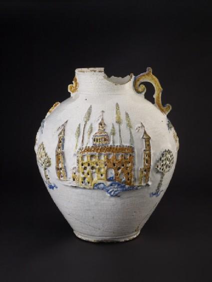 Armorial jar