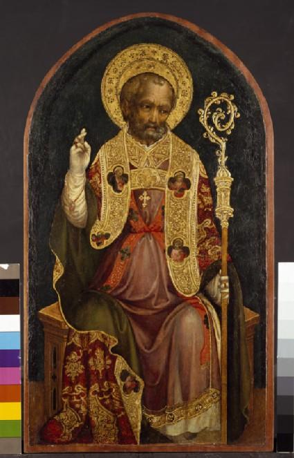 A Bishop Saint