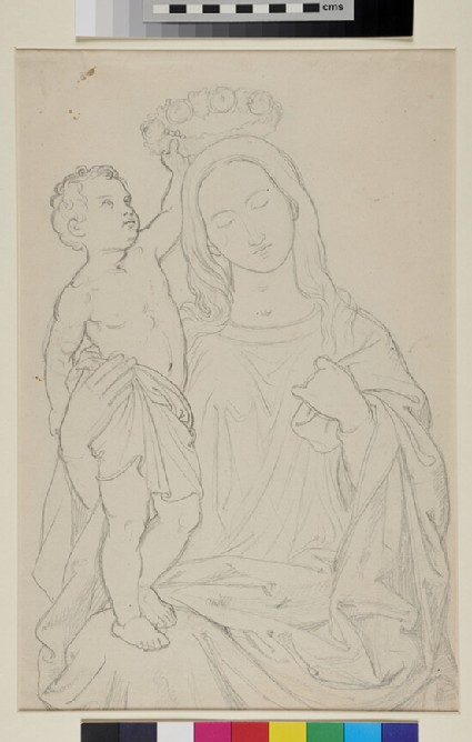 The Child Jesus crowning the Virgin