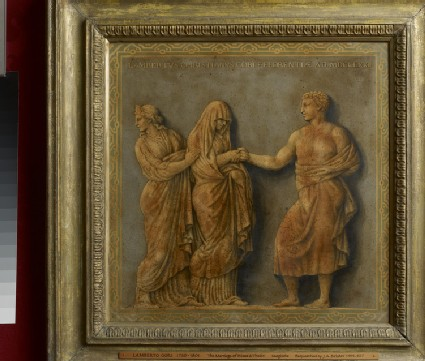 The marriage of Peleus and Thetis in the presence of Juno
