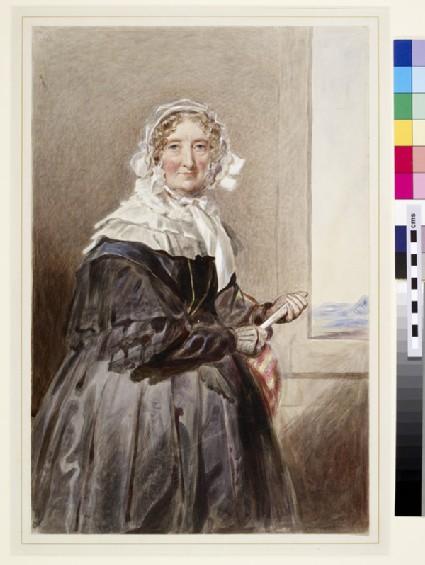 Portrait of Marie-Amélie, Queen of France