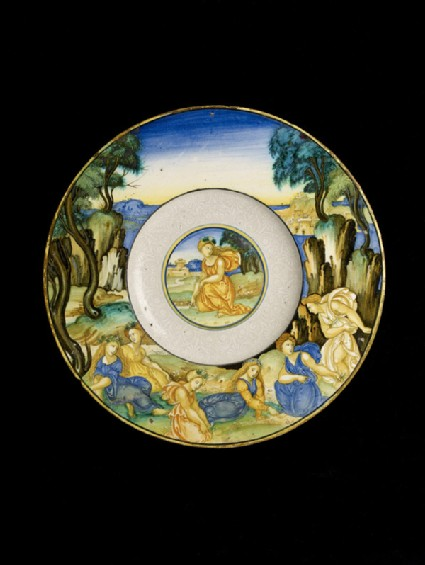 Plate, perhaps The Companions of Proserpina