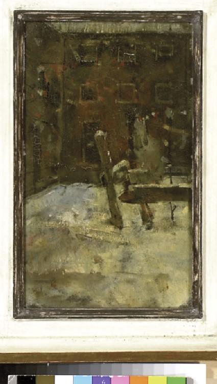 Barrack Yard in Winter