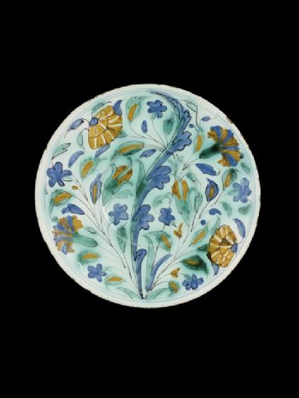 Plate in imitation of Iznik pottery