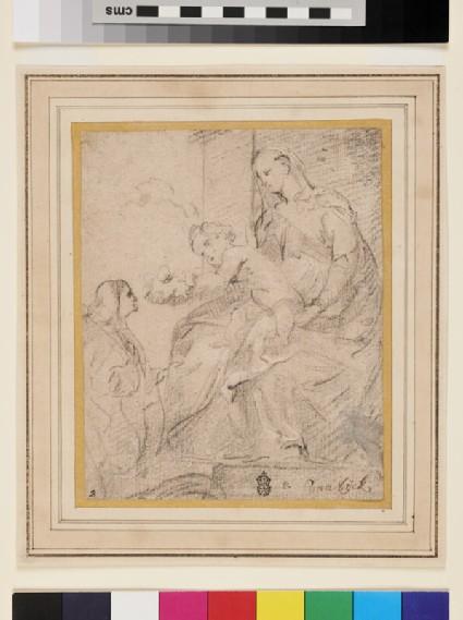 The Coronation of St Rosalia