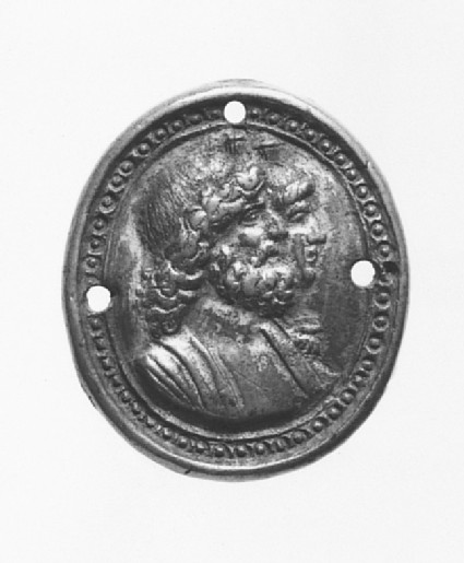 Portrait busts of Serapis and Isis