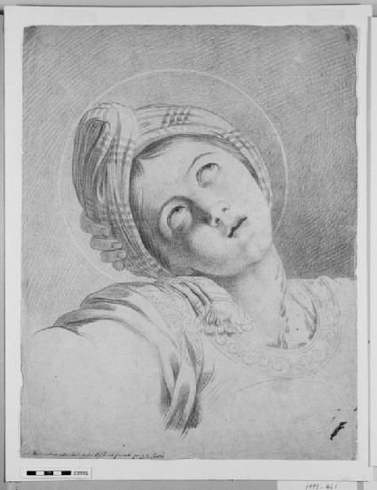 Head of St Cecilia, after Domenichino
