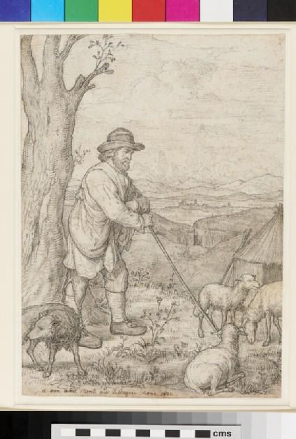 A Shepherd in the Campagna