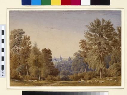 Oxford from Headington Hill