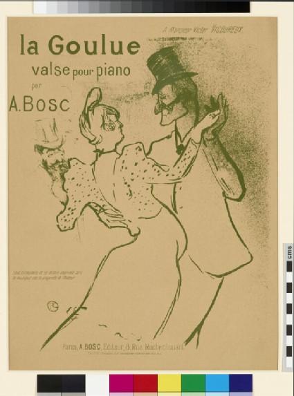 La Goulue, valse pour piano