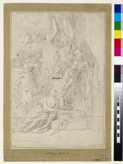 Design for the Frontispiece of Giacomo Leoni's 'The Architecture of Andrea Palladio'