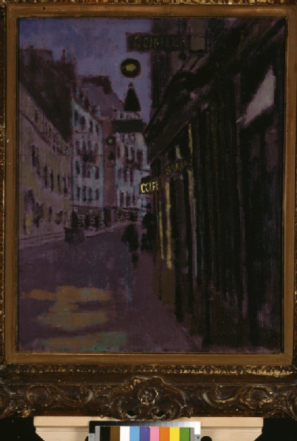 The rue Notre-Dame des Champs, Paris: the Entrance to Sargent's Studio