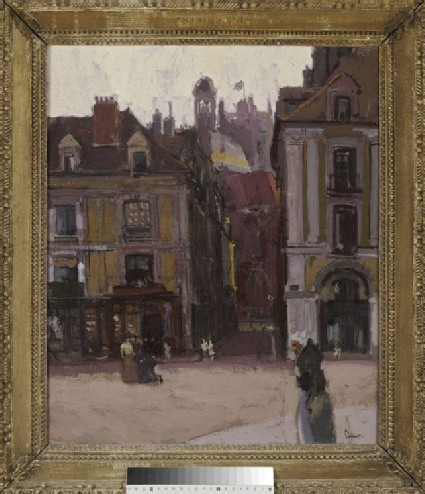 The rue Notre-Dame and the Quai Duquesne, Dieppe