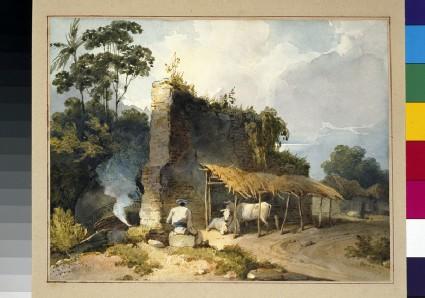 Ruins in Bengal