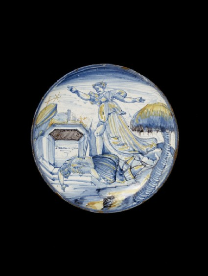 Bowl with Pyramus and Thisbe