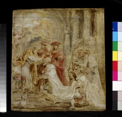 The Coronation of Henri IV