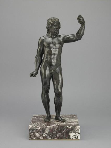 Standing figure of Jupiter or Neptune