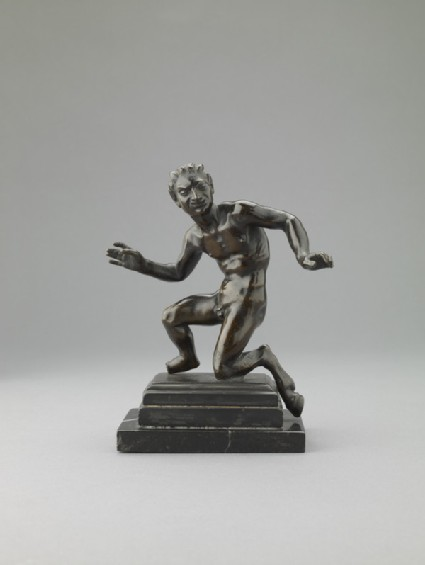 Figure of a crouching satyr