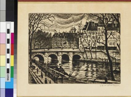 La Seine: Henri IV, L'Ile de Paris